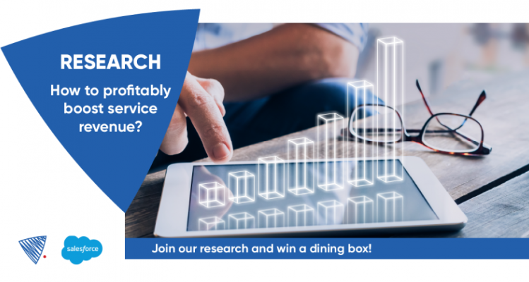 Research: How to profitably boost service revenue? Join our research and win a dining box!