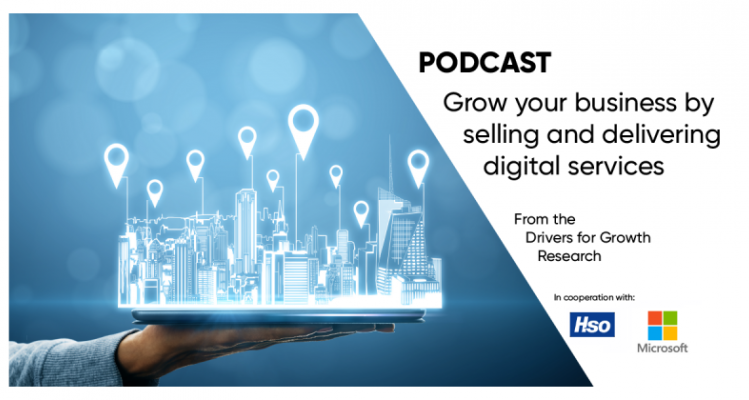 Grow your business by selling and delivering digital services