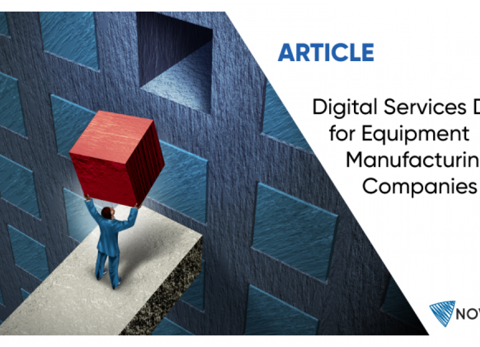 Digital Services Design for Equipment Manufacturing Companies