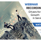 Drivers for Growth in Service post COVID-19 webinar