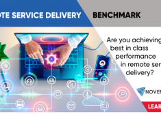 Remote Service Delivery Benchmark: Are you achieving best in class performance in remote service delivery?