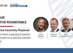 Executive Roundtable: The Service Centricity Playbook